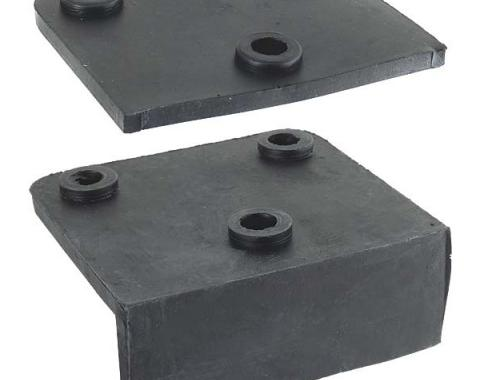 Model A Ford Engine Motor Mounting Rubber Pad Set - Rear - 4 Pieces - Original Style