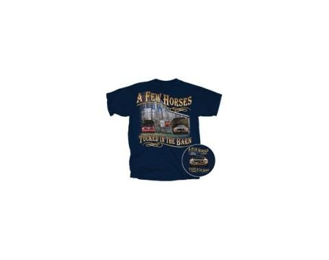 "Men's Ford Mustang ""A Few Horses Tucked In The Barn"" T-Shirt"