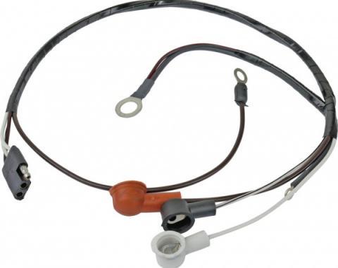 Daniel Carpenter Ford Mustang Alternator To Voltage Regulator Wiring - 289 Or 302 V-8 With Tachometer C7ZZ-14056-SBWT