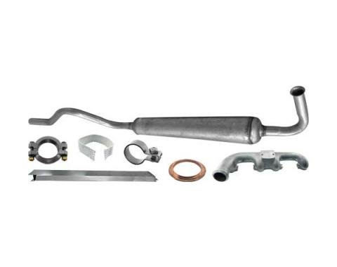 Model A Ford Exhaust Manifold & Muffler Kit