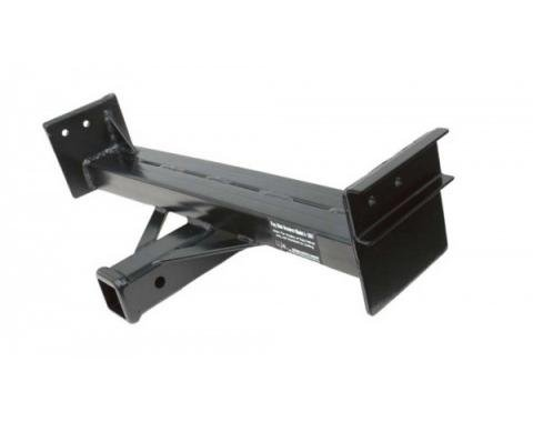 """Receiver Hitch For Parade Flags, 2"""" Square Opening, Bolt-In, Model A, 1928-1931"""