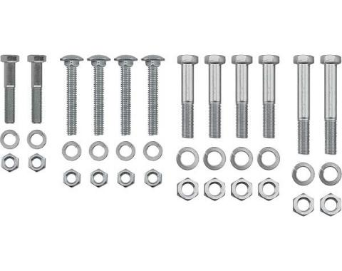 Model A Ford Body To Frame Bolt Set - 36 Pieces