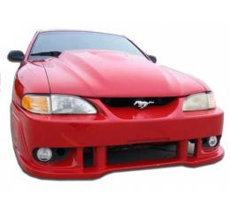 Ford Mustang  Spy 2 Style 1 Pc Poly Front Bumper 1994-98