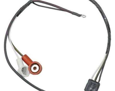 Ford Mustang Alternator To Voltage Regulator Wiring - All V-8 Engines