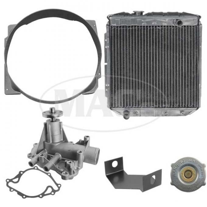 63/65 Falcon/Ranchero Cooling Kit (3 Row, 260/289)