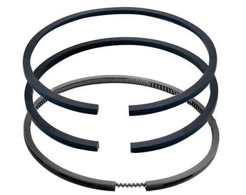 Model T Piston Ring Set For Aluminum Pistons, Standard & Oversize, 1909-1927