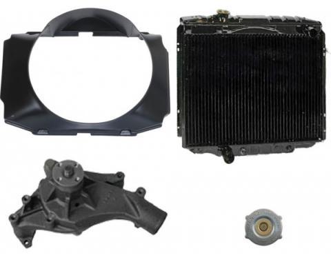 72/79 B/R Torino/Ranchero Cooling Kit (3 Row-351M/C)