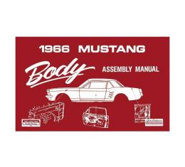 Ford Mustang Body Assembly Manual - 63 Pages