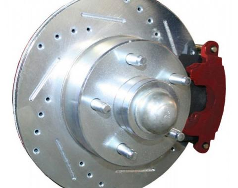 """Drilled Rotors, W/ Calipers, 12"""", 4-Link Upgrade, Falcon, 1960-1965"""