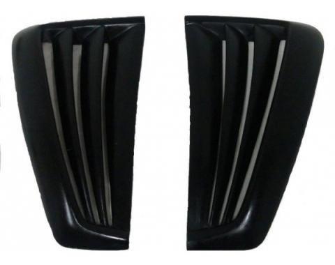 Ford Mustang Saleen Style 2 Pc Poly Side Scoops 1999-04