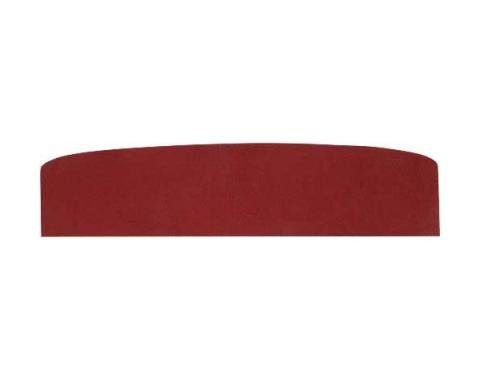 Rear Window Package Tray - 2 Door Hardtop - Red