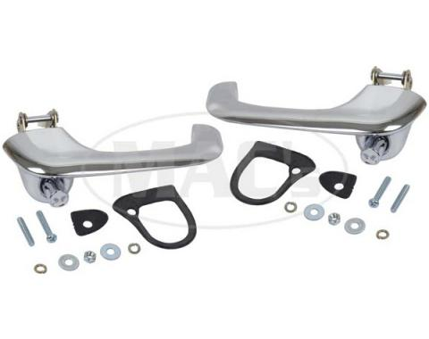 Ford Mustang Outside Door Handle Set - Chrome - Right & Left