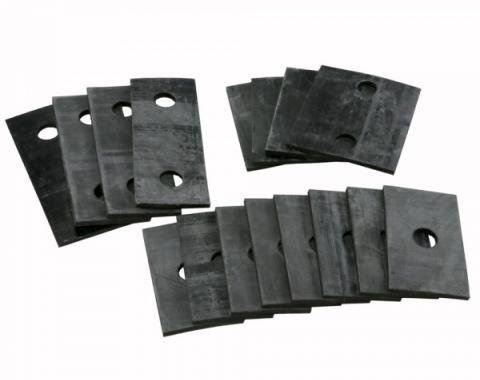 Model A Ford Body Mounting Block Rubber Pad Set - 16 Pieces