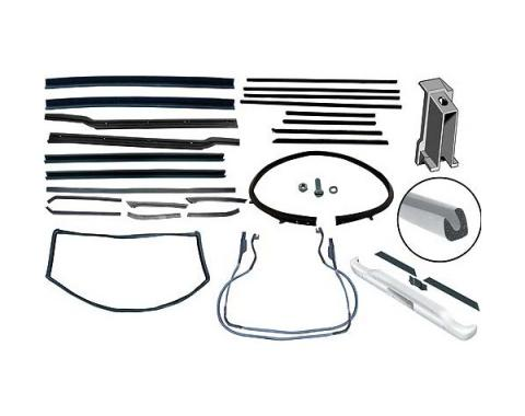 Convertible Weatherstrip Kit - Includes 12 Seals
