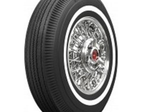 Tire, 800 X 14, 1 Whitewall, Tubeless, Universal, 1961-64