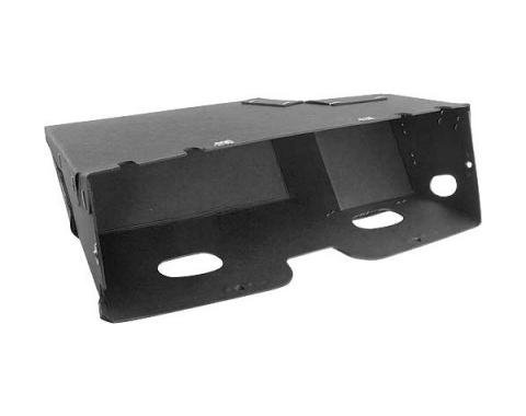 Glove Box Liner - Original Type Gray Cardboard - Without Clips