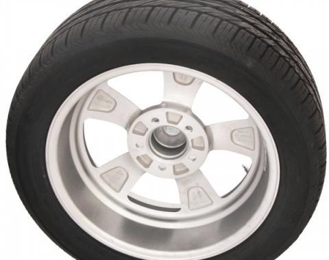 "Torq Thrust II Gray 15"" Wheels & OHTSU Tires, Mounted & Balanced Package"