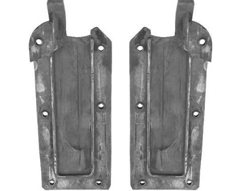 Ford Mustang Quarter Post Seals - Rubber - All Body Styles Except Fastback