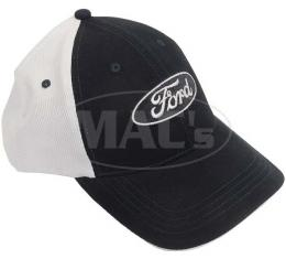 Hat, Mesh Trucker With Ford Logo