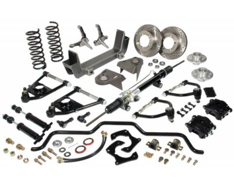 Mustang II Independent Front Suspension System, 1948-1952