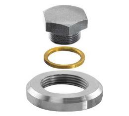 Oil Pan Drain Plug Repair Kit - Weld-in Type
