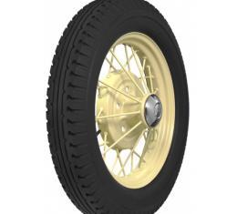 Model A Ford Tire - 4.75 X 19 - Blackwall - Firestone Brand