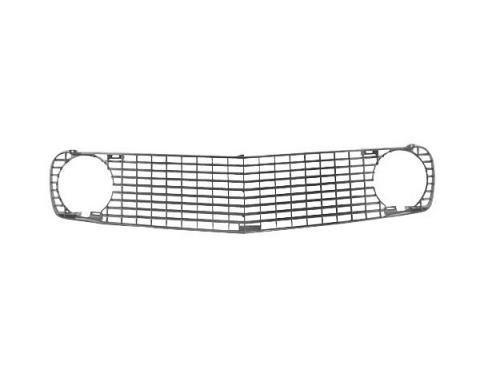 Daniel Carpenter Ford Mustang Grille - Black Plastic - Reproduction C9ZZ-8200