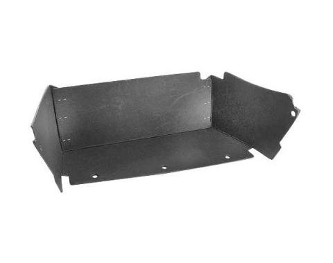Ford Mustang Glove Box Liner - With Air Conditioning - Stainless Steel Clips Are Installed