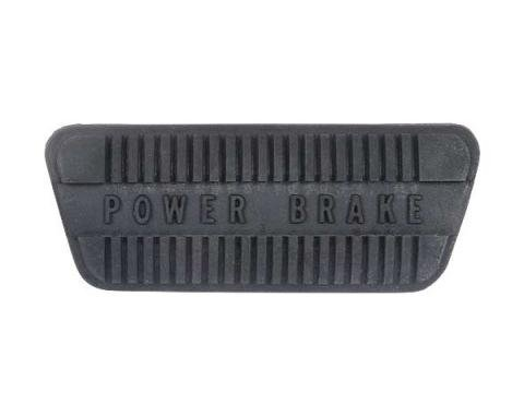 Ford Mustang Brake Pedal Pad - Power Drum Brakes - For CarsWith Automatic Transmission