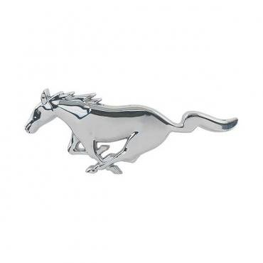 Ford Mustang Grille Emblem - Chrome - Running Pony