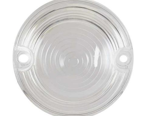 Ford Mustang Parking Light Lens - Plastic - Clear - Right Or Left