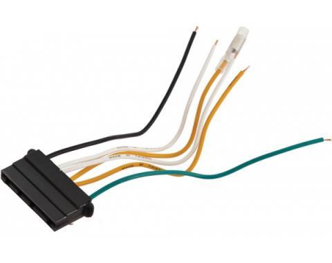 Alternator Voltage Regulator Plug and Wires