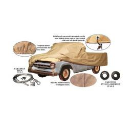 Pickup Truck Cover - Poly-Cotton - Pickup With Short Bed