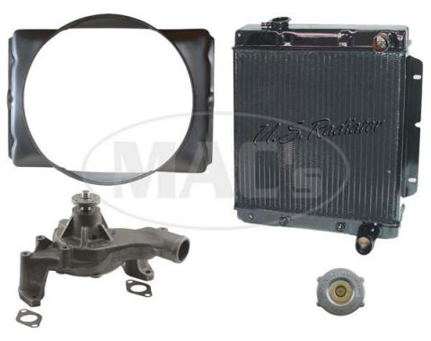 67 Fairlane/Comet Cooling Kit (4 Row-390/427)