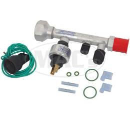 Air Conditioning POA Valve Upgrade, With R134 Refrigerant Fitting, Ranchero 1977-1979