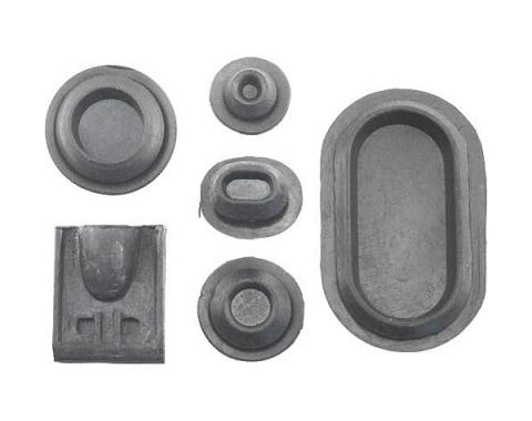 Ford Mustang Rubber Grommet Kit - 29 Pieces