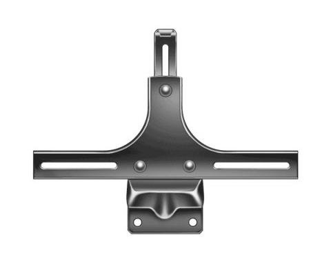 Front License Plate Bracket - Painted Black - Ford