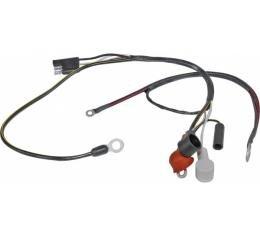 Ford Mustang Alternator To Voltage Regulator Wiring - V-8 With Warning Lights
