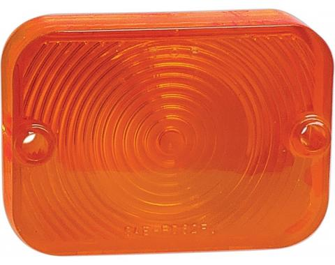 Parking Light Lens - Plastic - Amber