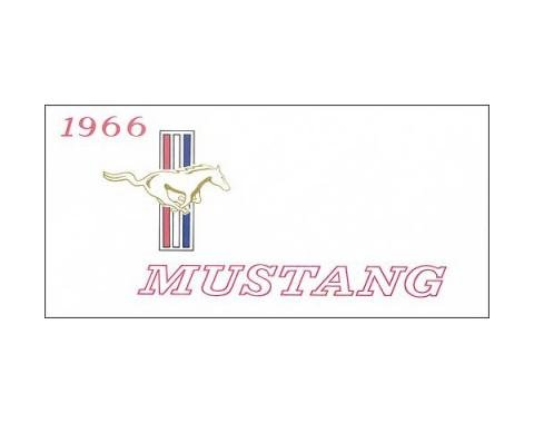 Mustang Owner's Manual - 72 Pages