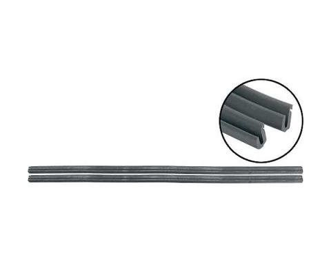 Ford Pickup Truck Back Edge Vent Window Seals - Rubber Only- F100 thru F900