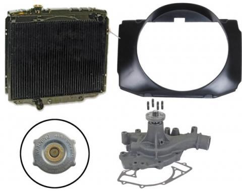 72/73 B/R Torino/Ranchero Cooling Kit (3 Row-429)