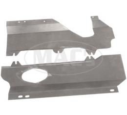 Model T Engine Pans, Replacement Type,  Non-OEM Universal Design, 1909-1927