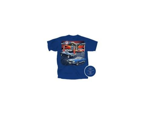 Men's Ford Mustang Service Station T-Shirt