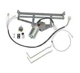 Ford Pickup Truck Electric Wiper Motor Conversion Kit - 12 Volt - Will Not Work With Factory Radio