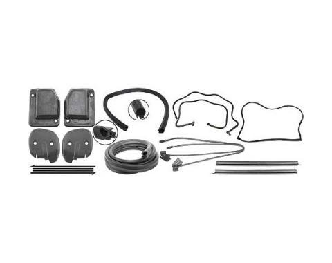 Ford Mustang Weatherstrip Kit - Fastback - Includes 9 Seals
