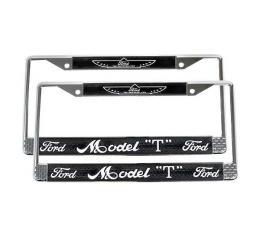 Model T Ford License Plate Frames - Fits Modern Plates