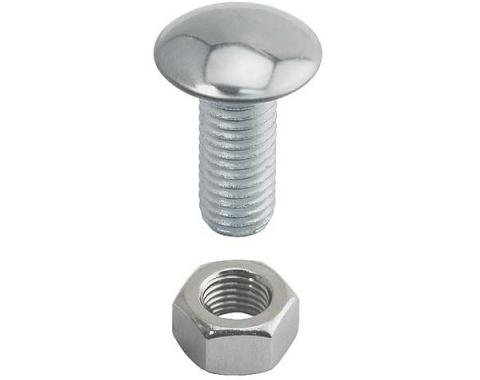 Bumper Bolt - With Stainless Steel Cap - Includes Nuts - 7/16-14 X 1-1/4