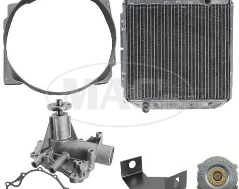 63/65 Falcon/Ranchero Cooling Kit (3 Row-260/289) Xtra