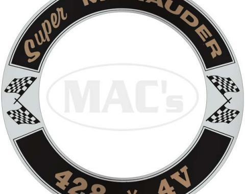 Air Cleaner Decal - Super Marauder 428 *4V - Mercury